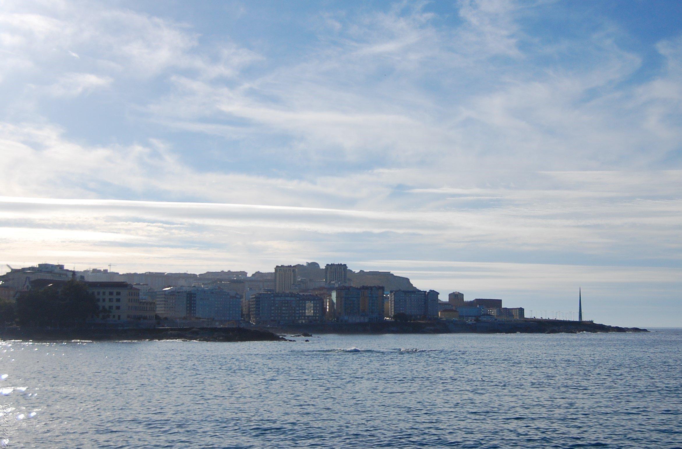 Sea view A Coruna Spain