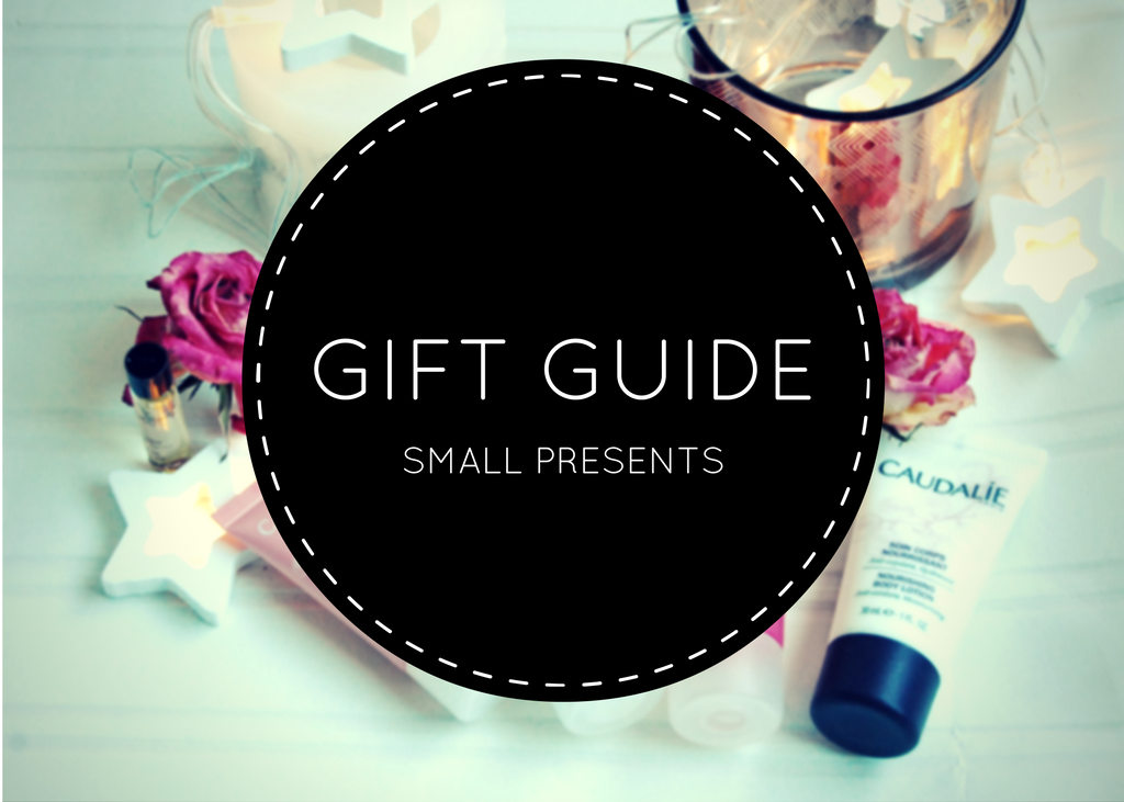gift guide small presents feature image