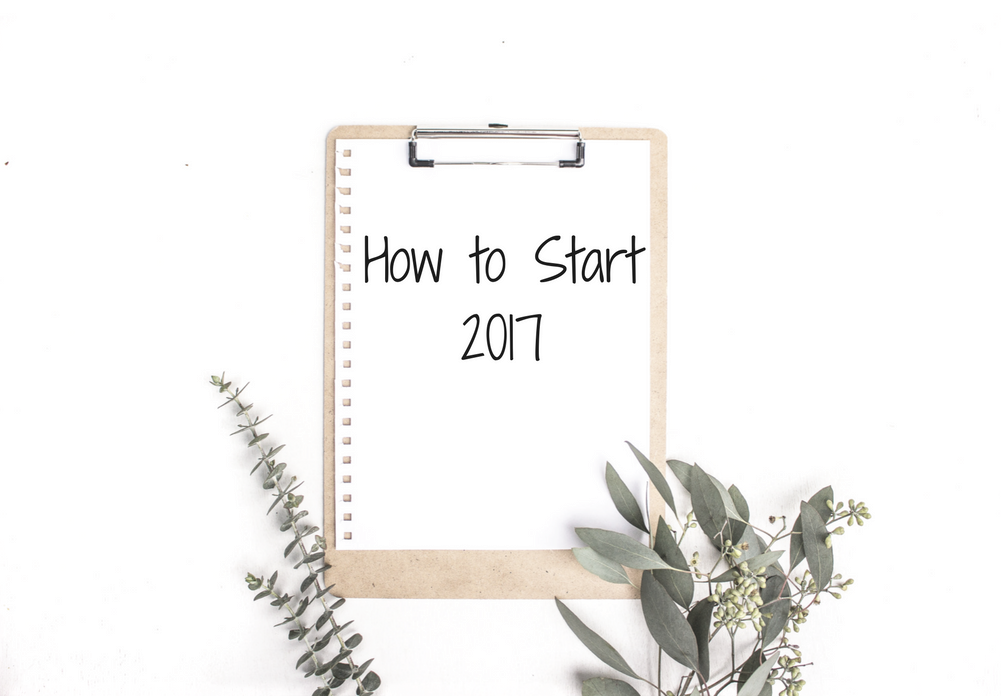 How to start 2017 with goal setting worksheet