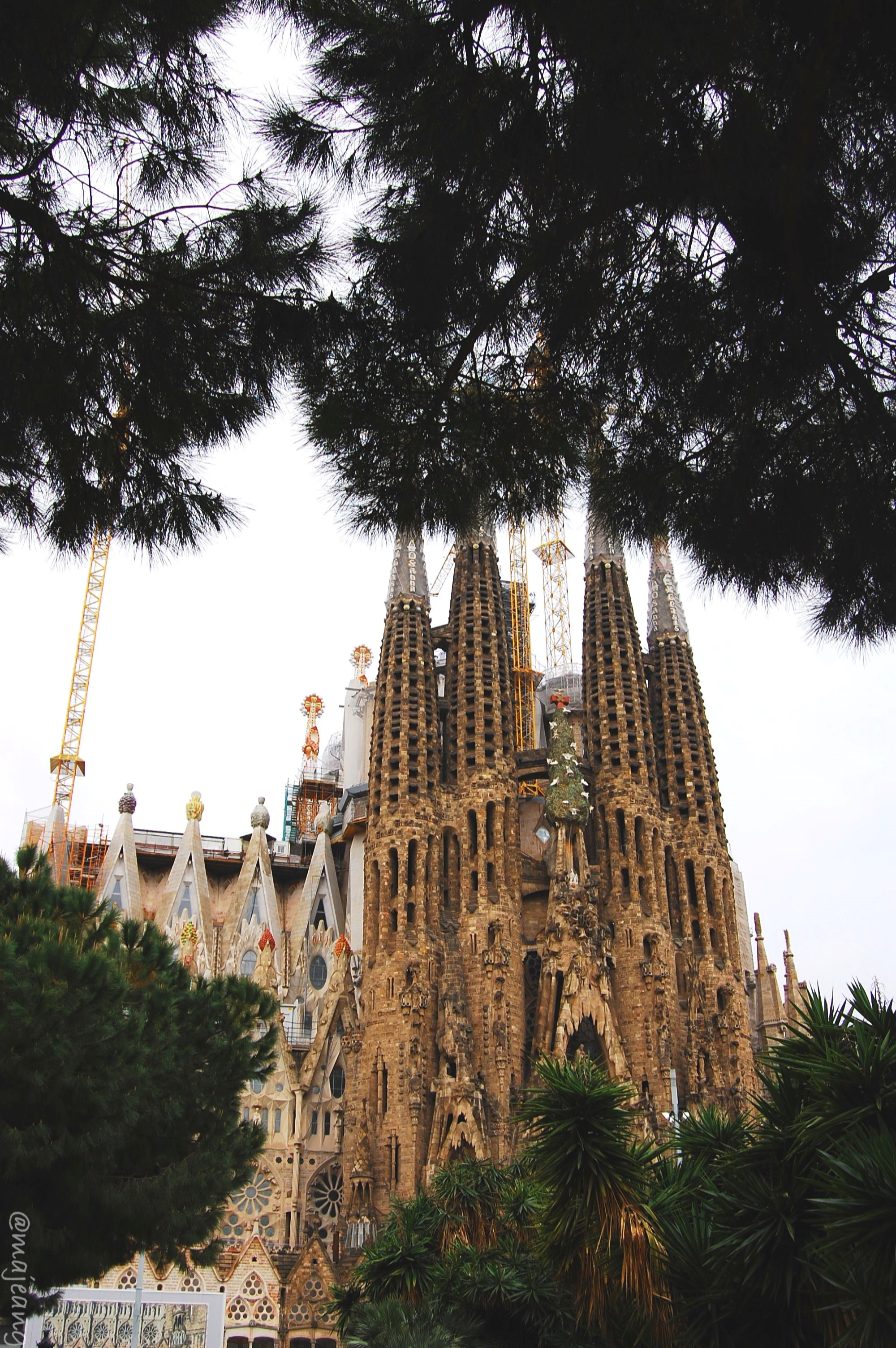 La Sagrada Familia by Gaudi, Barcelona photodiary