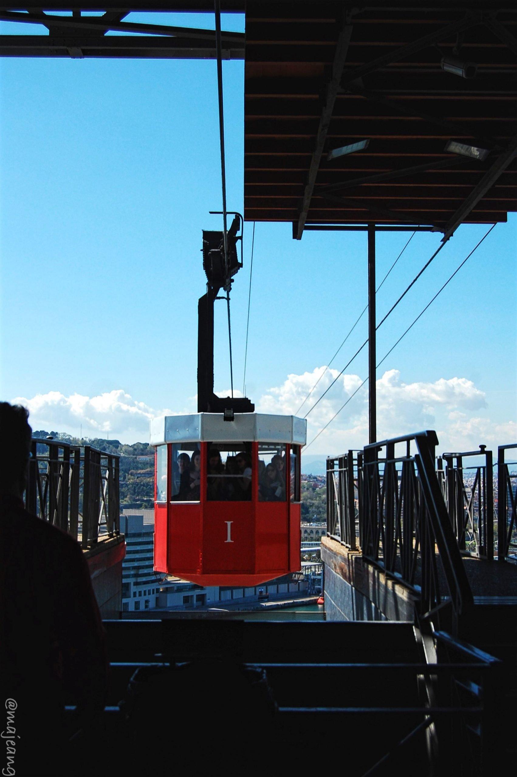 places crossed off my wanderlust list-Teleférico de Barcelona