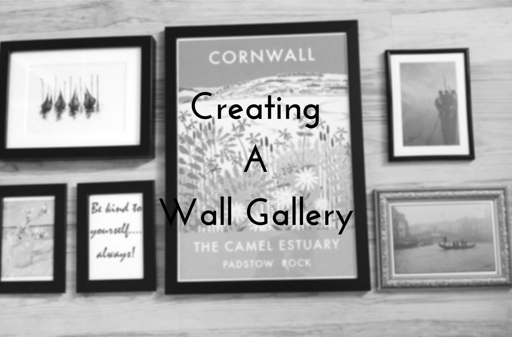 creating a wall gallery