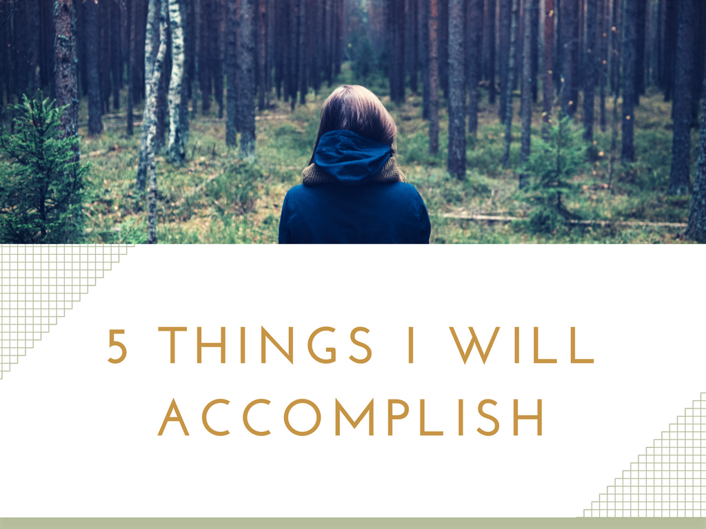 5 things I will accomplish on www.majeang.com