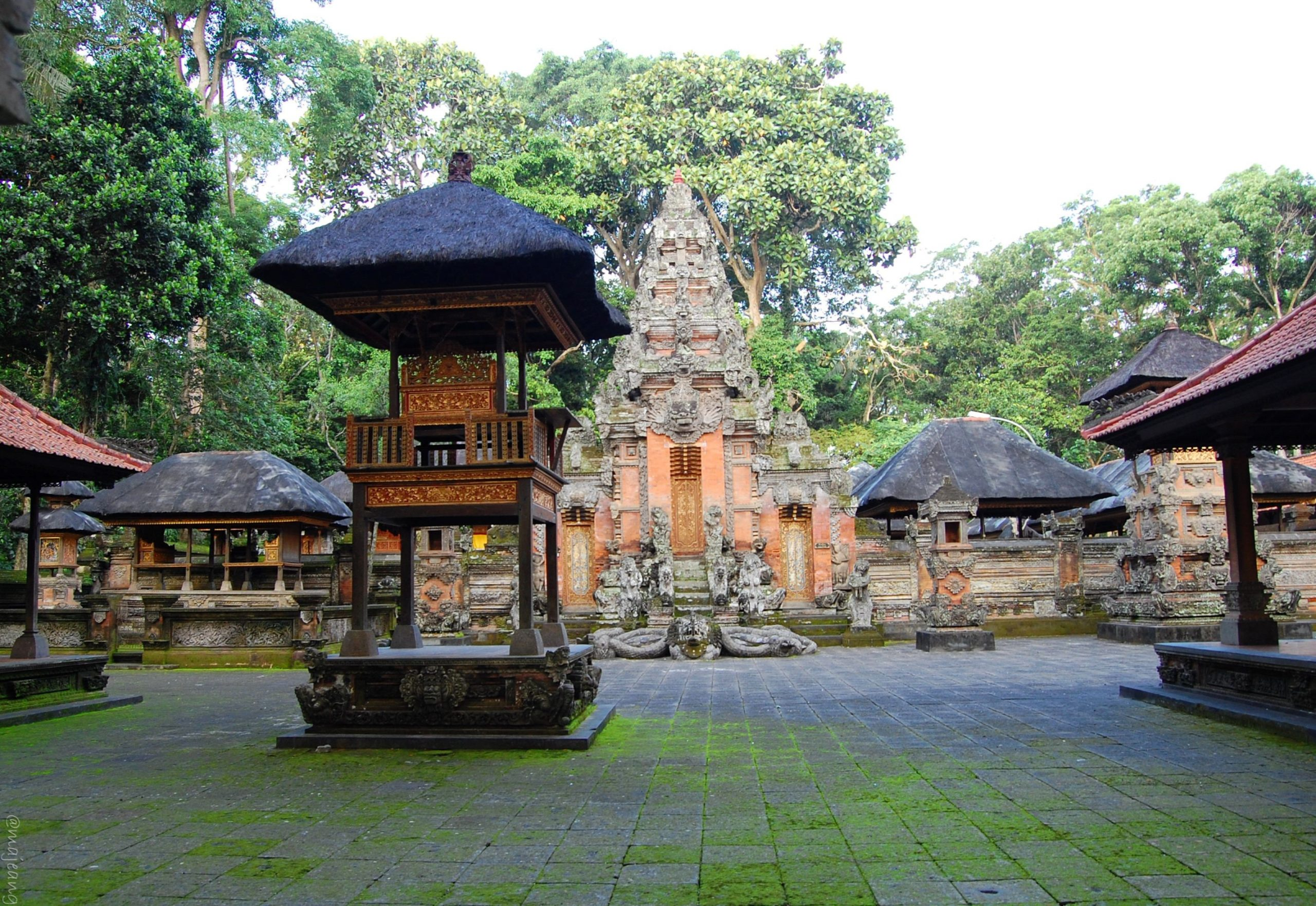 3 must see places in Bali, Temple at Monkey forest