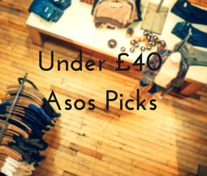 Under £40 Picks From Asos