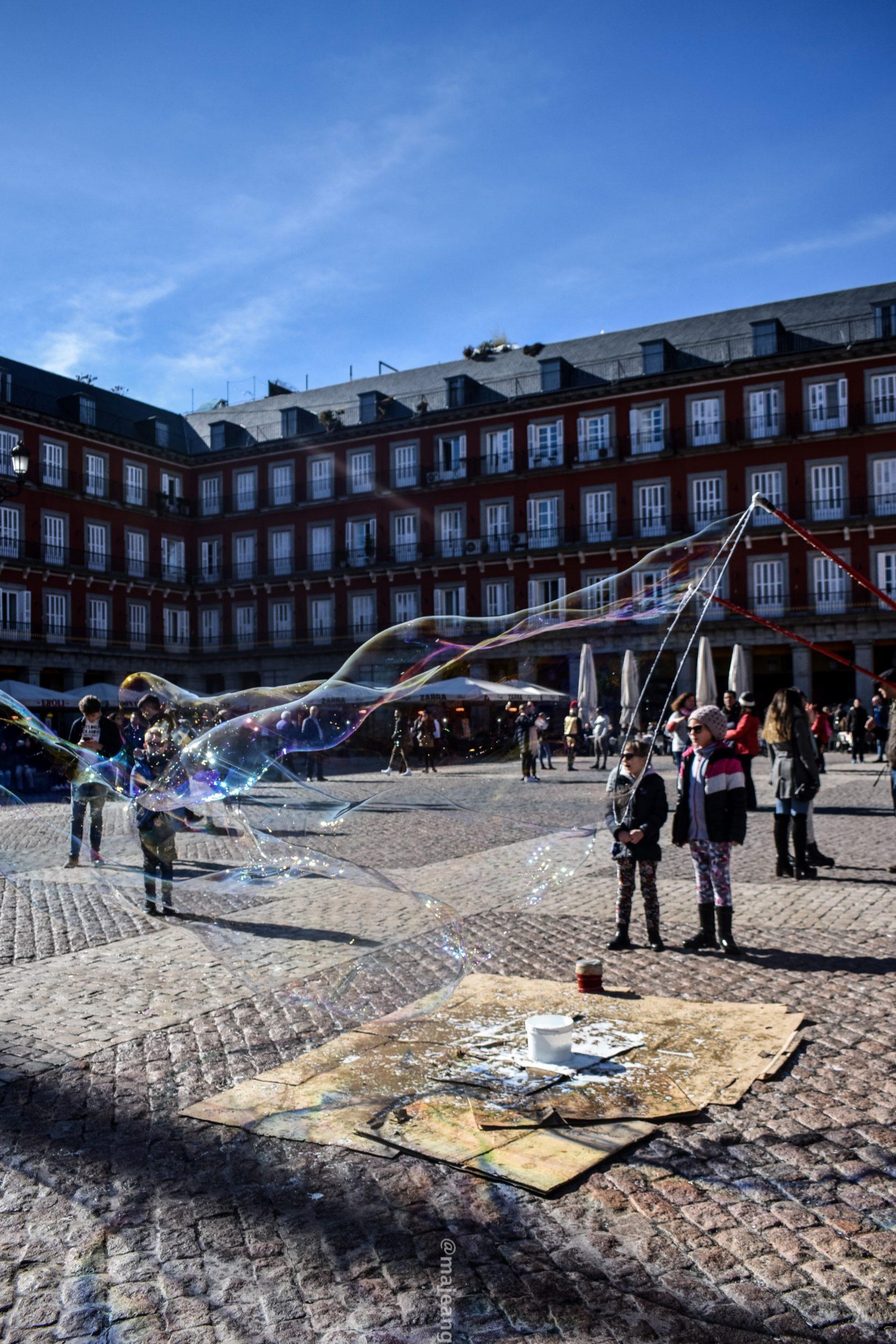 5 reasons madrid makes a great city break- plaza mayor