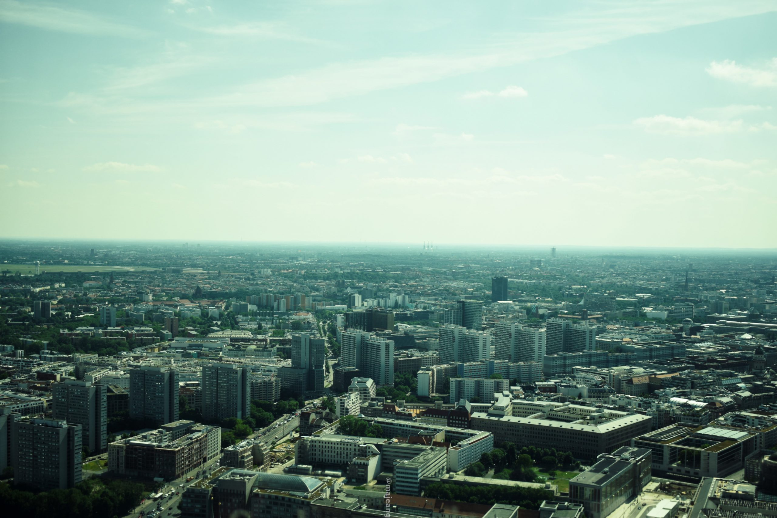 what I did in Berlin for 48 hours- tv tower