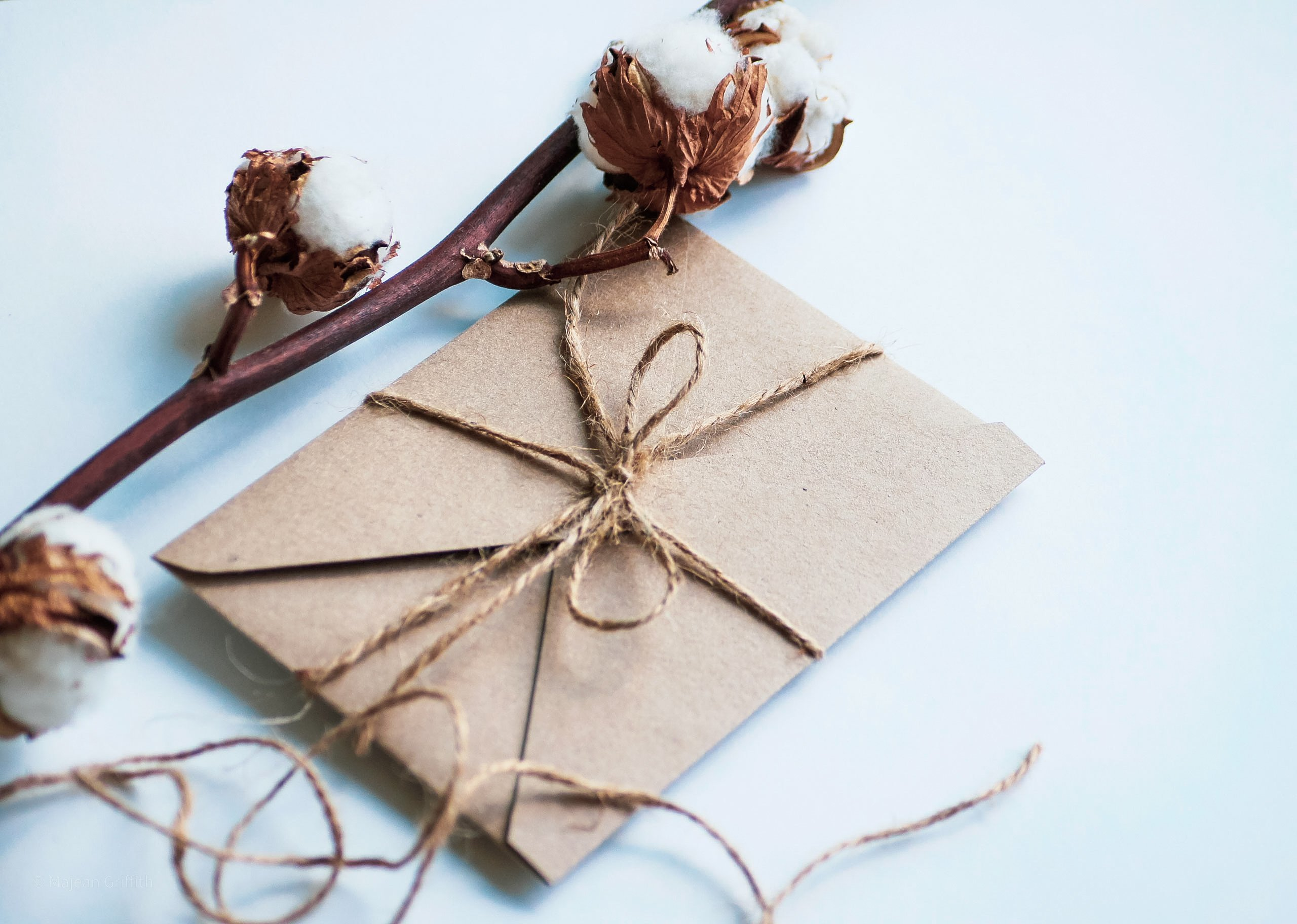 Ultimate Christmas 2020 gift guide - wrapped present with brown paper and twine
